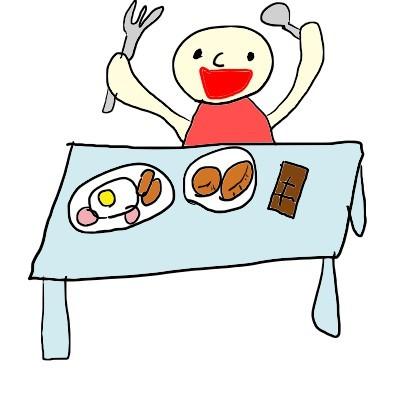 朝食はいっぱい.jpg